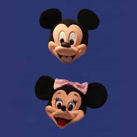 Mickey Mouse - Cabeça Tradicional
