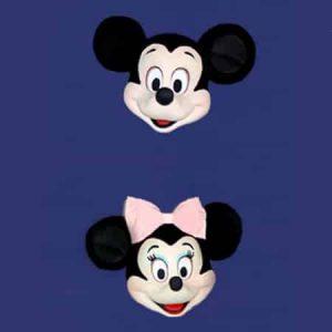Mickey Mouse - Cabeça Luxo
